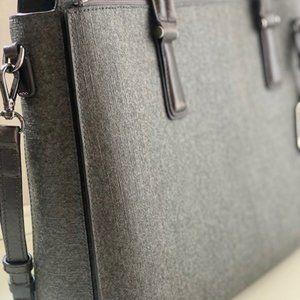 Tumi Ashton Collins Briefcase Grey Women's